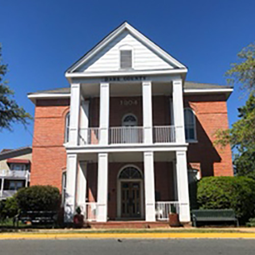 Old Dare County Courthouse