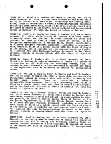 Phil, Danny, David and Paul Charges Affidavit page 3