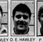 David, Danny and Paul Hawley newspaper clippings