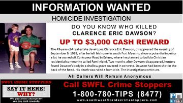 Eric Dawson SWFL Crime Stoppers Profile
