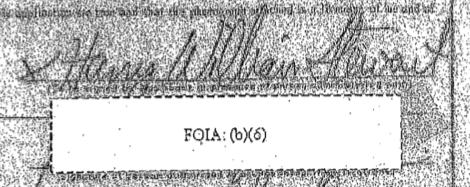 Harry William Stewart Signature