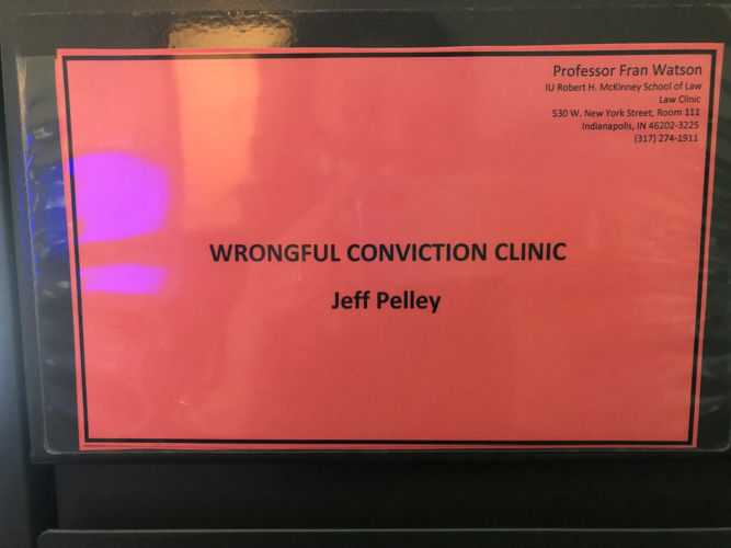 Wrongful Conviction Clinic Jeff Pelley - Sign