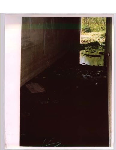 tunnel with standing water