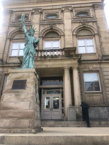 outside of courthouse 1